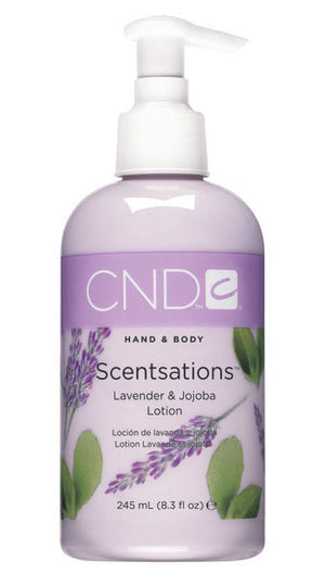 CND Hand & Body Scentsations Lotion 8.3 fl oz - Lavender & Jojoba