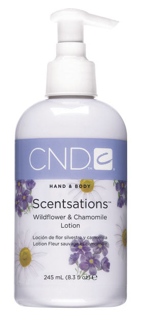 CND Hand & Body Scentsations Lotion 8.3 fl oz - Wildflower & Chamonmile
