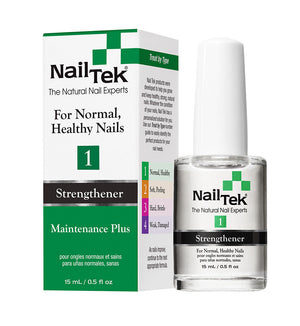 NailTek #1 For Normal, Healthy Nails Strengthener Maintenance Plus 0.5 oz