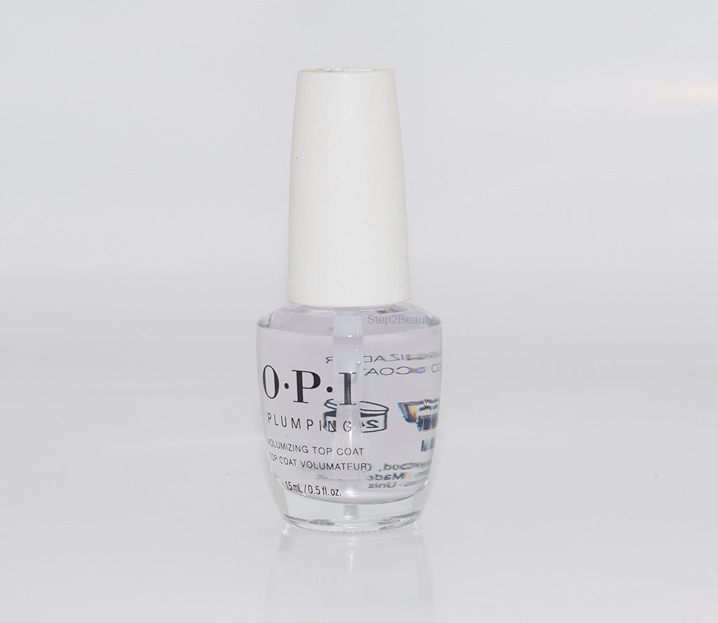 OPI Plumping Volumizing Top Coat 0.5 Oz