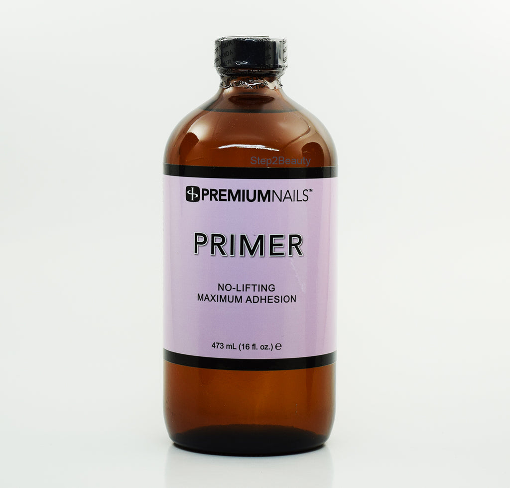 PremiumNails Primer No-Lifting Maximum Adhesion 16 Fl oz