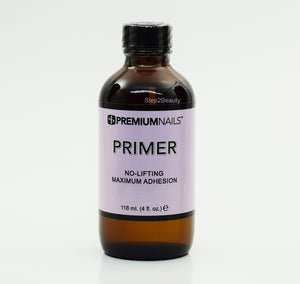 PremiumNails Primer No-Lifting Maximum Adhesion 4 Fl oz
