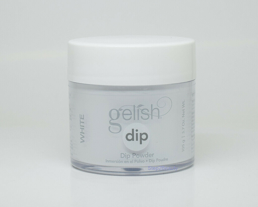 Gelish Dip Powder 3.7 Oz - #1611876 Arctic Freeze (White)