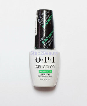 OPI Gel Color Soak Off Gel - Pro health BASE COAT 0.5 oz