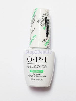 OPI Gel Color Soak Off Gel - Pro health TOP COAT 0.5 oz GC 040
