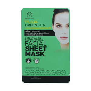 BCL Essential Oil Serum - Infused Facial Sheet Mask | Green Tea