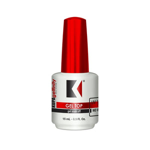 Kupa GelFinity Soak Off Gel UV/LED 0.5 oz | Top Coat No Wipe