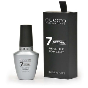 Cuccio 7 Second Reactive Top Coat 0.43 fl.oz