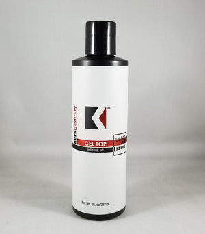 Kupa GelFinity Soak Off Gel UV/LED | Top Coat No Wipe 8 oz Refill