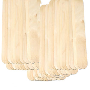 Large Waxing Wood Sticks -500 counts (10_Packs)