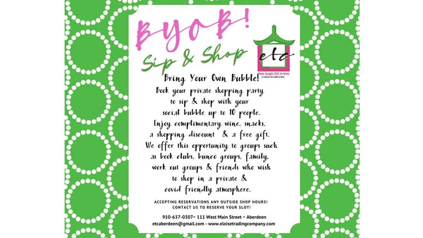 Private Shopping Events!