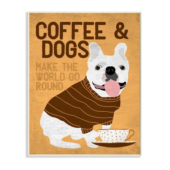 Coffee and Dogs Wall Art