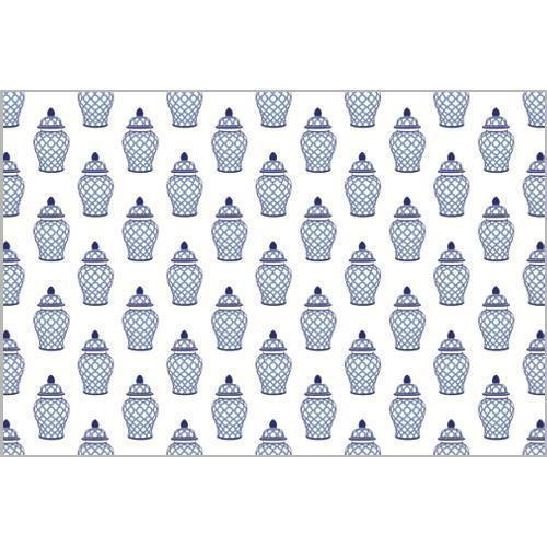 Blue and White Ginger Jar Placemats