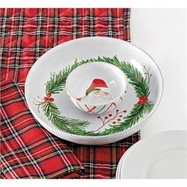 Santa Chip and Dip Set