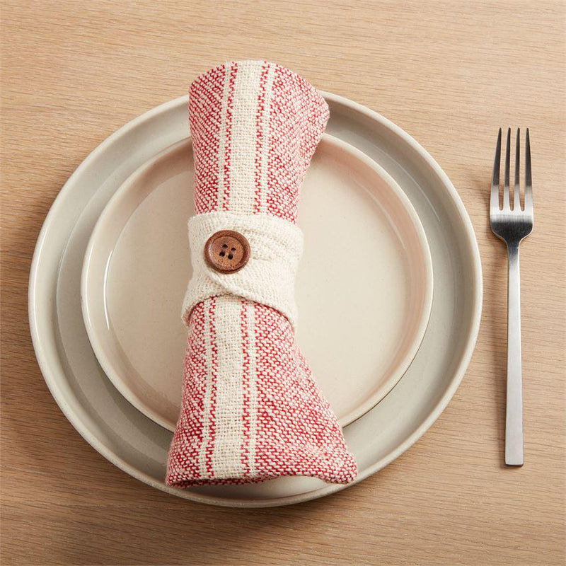 Red Cloth Napkin Set