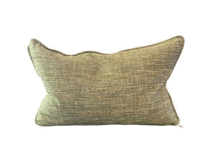 ETC Custom Pillow Tweed Green