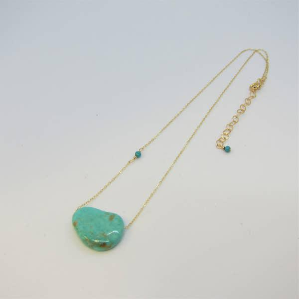 J Mills Solo Kingman Turquoise Necklace