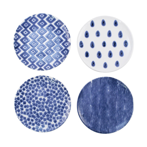Vietri Santorini Assorted Dinner Plates