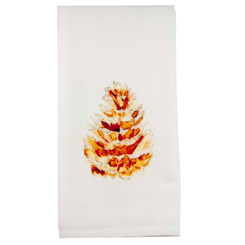 Pinecone Dish Towel