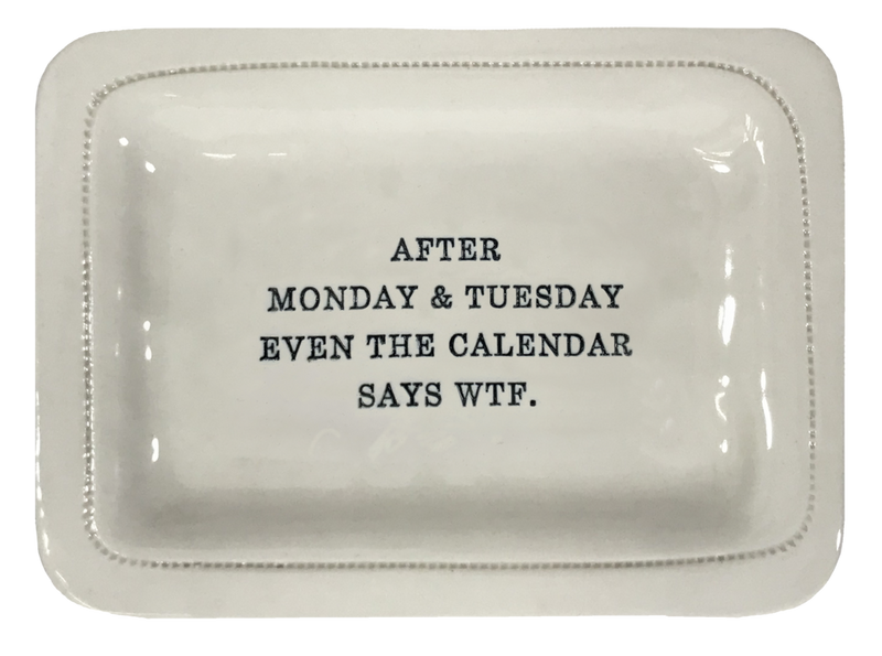 After Monday and Tuesday Trinket Tray