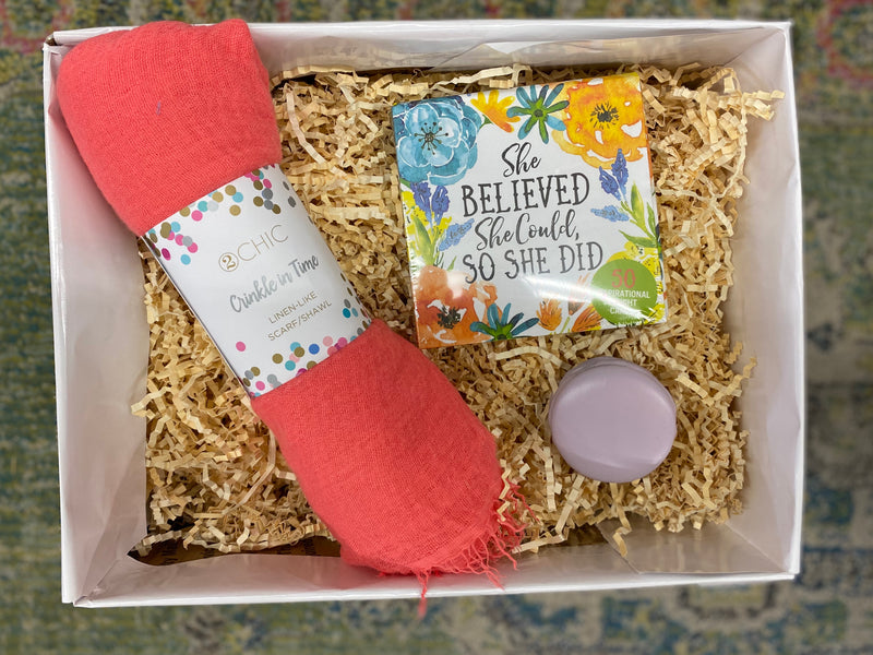 Gift Box Scarf & Inspiration