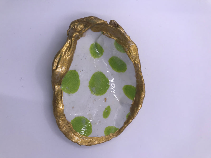 Small Oyster Shell Trinket or Ring Dish