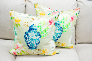 Ginger Jar Pillow