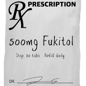 RX Prescription Fukitol Towel