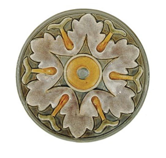Multi Colored Round Terra-cotta Plate Wall Decor,