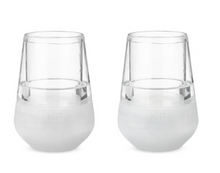 Load image into Gallery viewer, Glass FREEZE Wine Glass Set