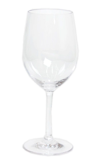 Caspari Acrylic Wine Glass