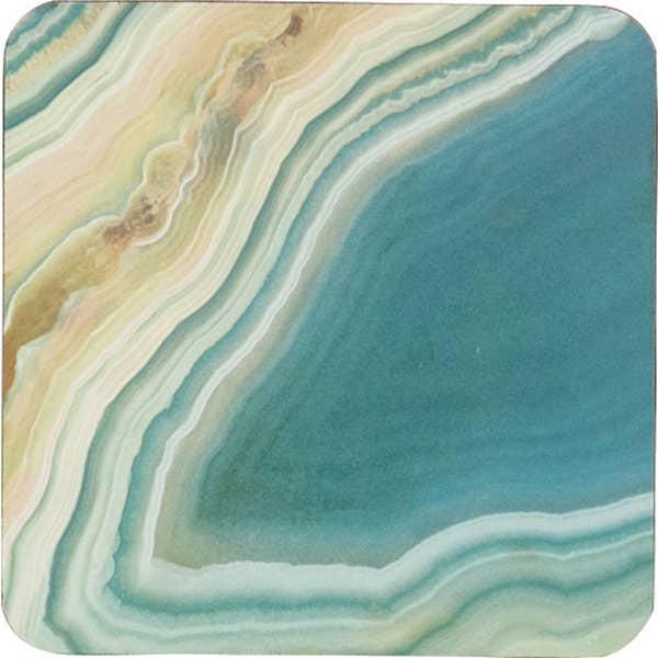 Sea Agate Coasters S/4