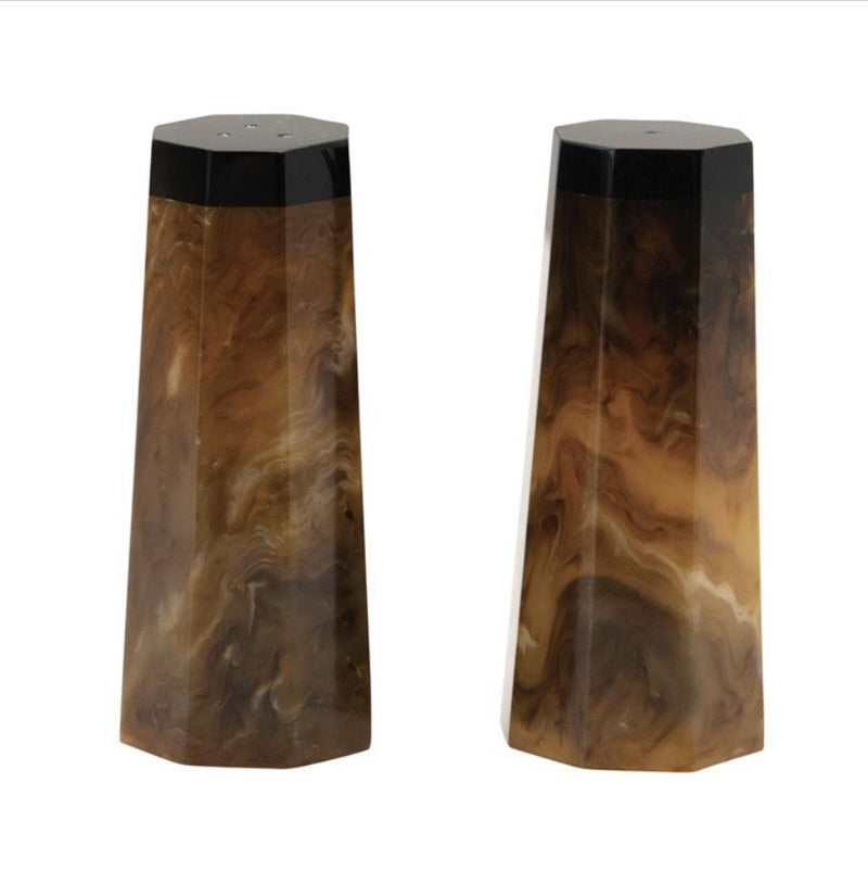 Resin Salt & Pepper Shakers