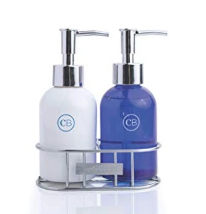 Capri Blue Volcano Hand Soap/Lotion with Caddy