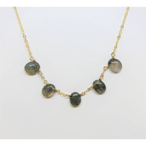 J Mills Labradoriate Drop Necklace