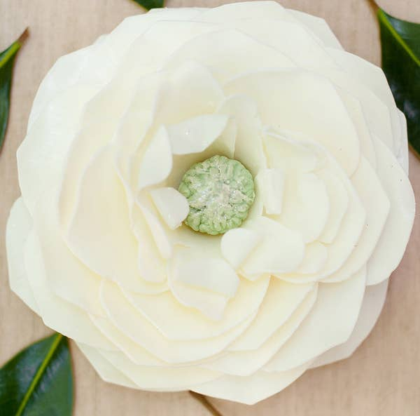 Mississippi Queen Magnolia Petal Soap Flower