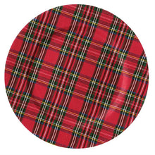 Load image into Gallery viewer, Tartan Christmas Charger