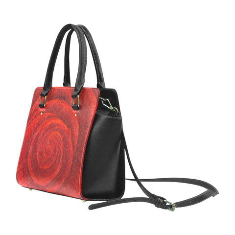 Red Rose Handbag By JSFA Fashion For Women