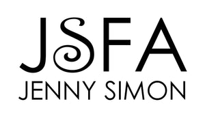 Jenny Simon Fine Art on Fashion Logo JSFA