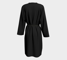 Load image into Gallery viewer, All Black Robe Duster | JSFA - JSFA - Original Art On Fashion by Jenny Simon