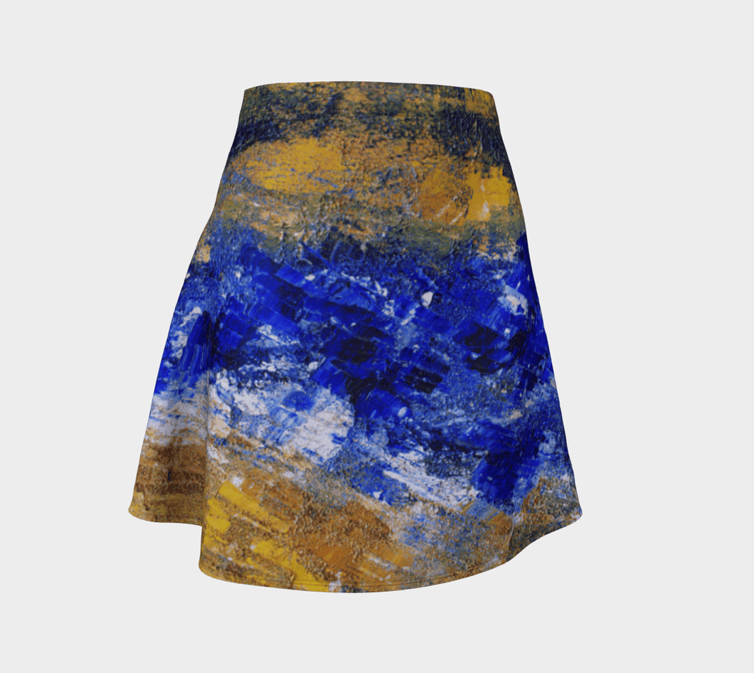 Beaches Flare Skirt | JSFA - JSFA - Original Art On Fashion by Jenny Simon