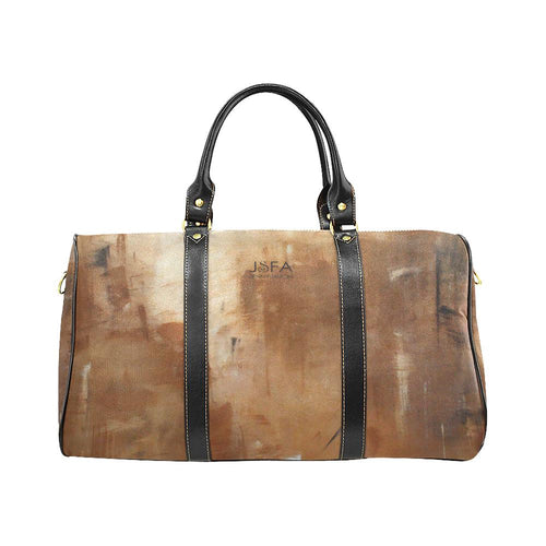 Beige Path Travel Bag | JSFA - JSFA - Original Art On Fashion by Jenny Simon