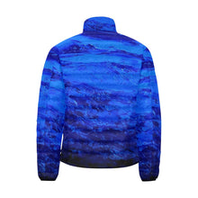 Load image into Gallery viewer, Blue Secret Men's Bomber Jacket | JSFA - JSFA - Original Art On Fashion by Jenny Simon