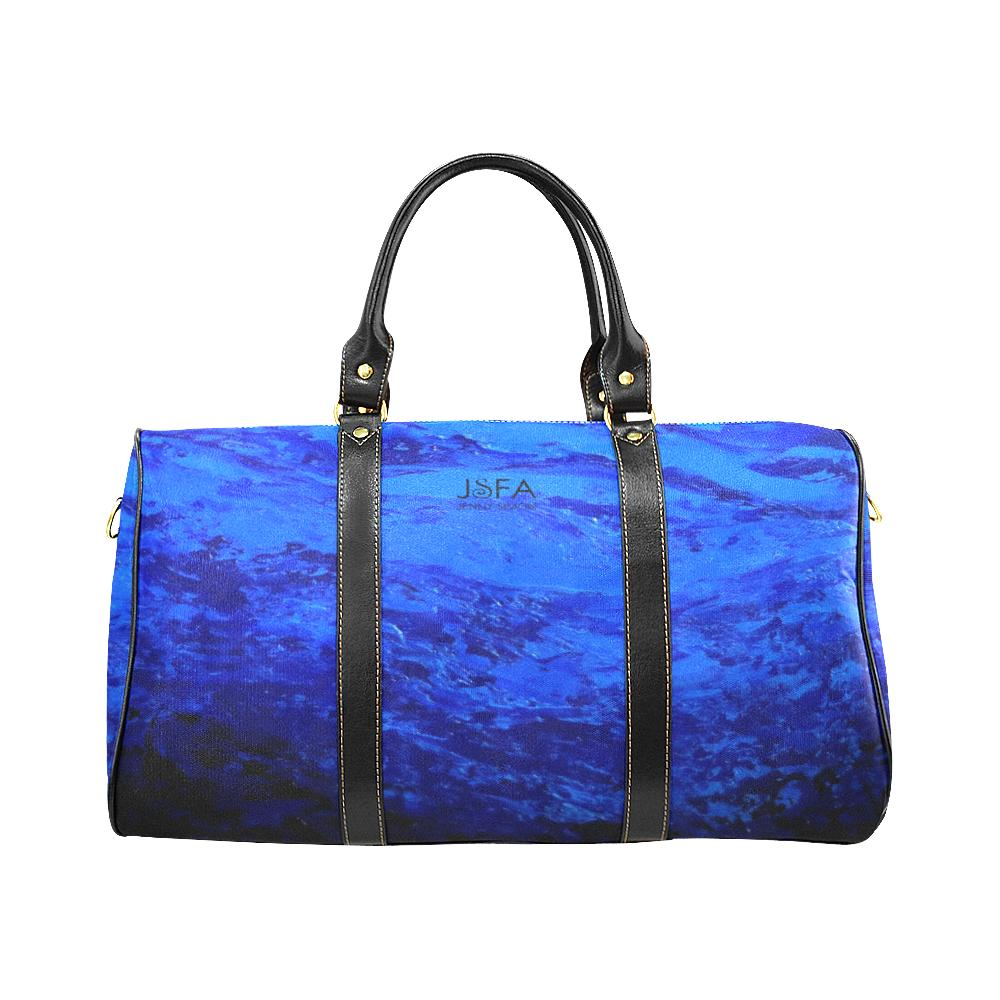 Blue Secret Water Travel Bag | JSFA - JSFA - Original Art On Fashion by Jenny Simon
