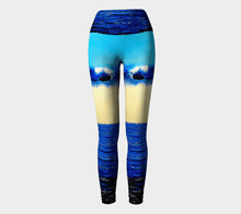 Load image into Gallery viewer, Funky Rebirth Yoga Pants | JSFA - JSFA - Original Art On Fashion by Jenny Simon