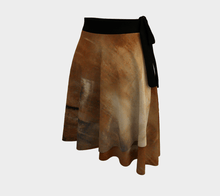 Load image into Gallery viewer, Golden Path Wrap Skirt | JSFA - JSFA - Original Art On Fashion by Jenny Simon
