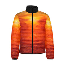 Load image into Gallery viewer, Golden Sunset Men's Bomber Jacket | JSFA - JSFA - Original Art On Fashion by Jenny Simon
