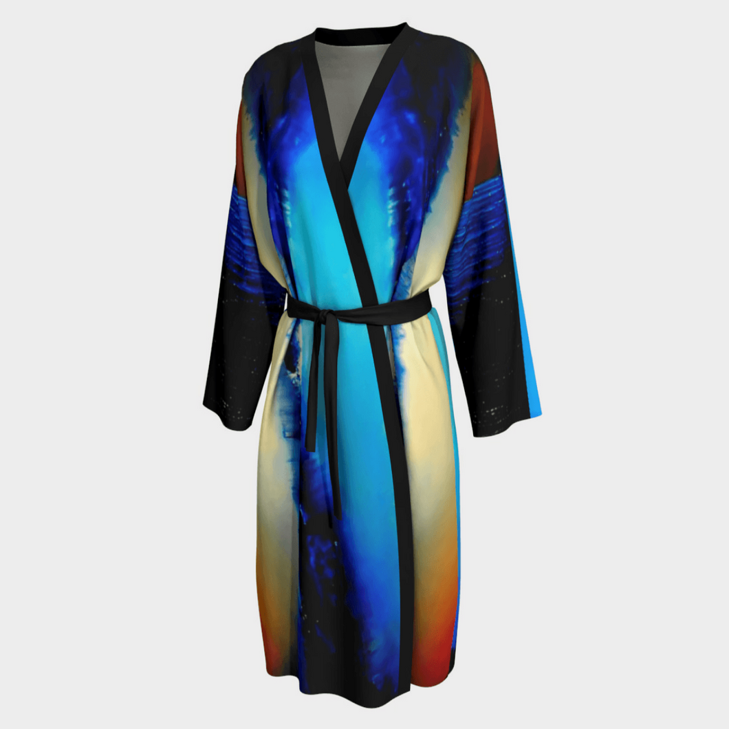 Multi-color Glory Robe | JSFA - JSFA - Original Art On Fashion by Jenny Simon