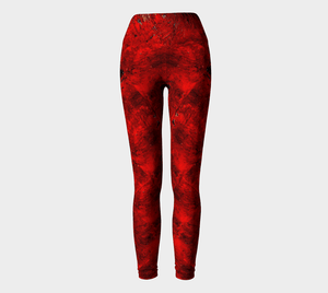 Pure Love Yoga Pants | JSFA - JSFA - Original Art On Fashion by Jenny Simon