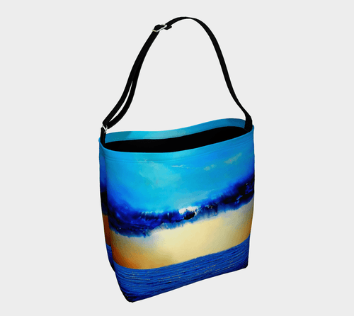 Rebirth Ocean Shopper | JSFA - JSFA - Original Art On Fashion by Jenny Simon